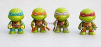 Wholesale Hot Sale set Teenage Mutant Ninja Turtles Q Anime Cartoon TMNT PVC Action Figure Toys Dolls christmas gifts toys brinquedos