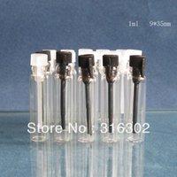 Tester perfume Prix-DHL Livraison gratuite, 1ml mini-parfum flacon en verre, parfum flacon d'échantillon, testeur bouteille