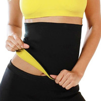 Wholesale S5Q Neoprene Training Body Slimming Waist Shapers Belt Cinchers Corsets Bodysuit AAAFDE