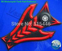 Wholesale New D Motorcycle Tank Pad Protector Tank Gas Rubber Decal Sticker For YZF R1 FZ6