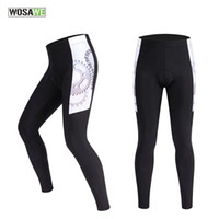 Wholesale WOSAWE POLYESTER SPANDEX Mountain Biking Cycling Pants Elastic Outdoor Sports Tights Trousers Cycling Clothing