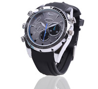 Wholesale 1PCS Night vision high definition camera watch RAM GB W5000 p hd video million pixels