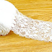 Wholesale Wonderful Yards White Lace Trimmings Decoration Crafts Sewing Lace Trim Decor