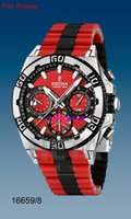 Wholesale Festina F16659 Men s Quartz Watch Red Dial Red Rubber Band LE TOUR DE FRANCE Chrono Bike CHRONOGRAPH Original Box