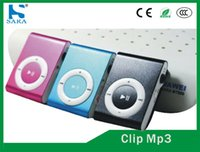 Wholesale MP3 Music Players Colors Choose Sports Mini Fashion Clip Metal Without Screens But Have Micro SD TF Card Slot Mini mp3