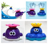 automatic intelligence - Toddler Bath Toys Fashion Baby Cute Animal Model and Automatic Water Spray Bathtub Toys Hot Kids Intelligence Development and Educational To