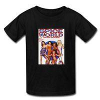 adams shirt - Spice World Alan Victoria Adams DIY t shirt Cotton Men s Short sleeve Custom Spring summer t shirt Boy Man Sacual Cloth