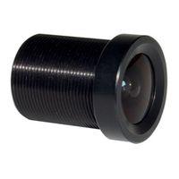 Wholesale 2015 brand new mini camera lens fpv camera lens CCTV x mm F1 Monofocal Fixed Iris degrees AOV Board Mount MTV Lens