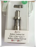 Wholesale 2015 newest food grade stainless steel heating coil arctic sub ohm tank clearomizer kit bottom feeder mod