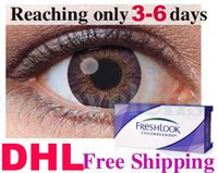 Wholesale TNT only need days pairs Freshlook Contact lenses Color Contact lens color contact lenses3 Tones colors EYE