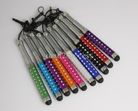 Wholesale Useful Mini Flexible Retractable Stylus Pen Touch Capacitive Pen for Capacitive Mobile Phone Tablet PC