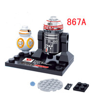 Wholesale Star Wars Minifigures D867 The Force Awakens Kylo Ren BB Building Block Set Models Action Figures Toys For Children