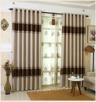 balcony window - European style high grade blackout curtains living room bedroom balcony curtain custom screens
