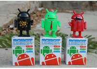 android users - freeshopping Plastic toys Educational toys clockwork toy Google Android robot two generation Mobile phone users toys