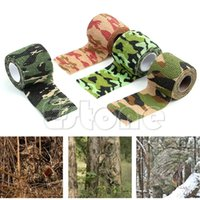 Wholesale 1 Roll Waterproof Sporting Camo Camping Hunting Hiking Camouflage Stealth Tape