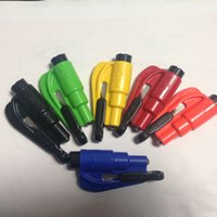 Wholesale 15pcs Keychain Car Escape Tool A Glass Breaker Seatbelt Cutter New Original