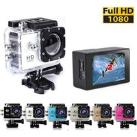 Wholesale Waterproof s4000 Inch LCD Screen style P Full HD Camcorders SJcam Helmet Sport DV M Action Camera DHL shipping
