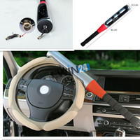 Wholesale brand new and high quality Anti Theft Baseball Bat Style Fits for Defense Security Car Auto Steering Wheel Locks