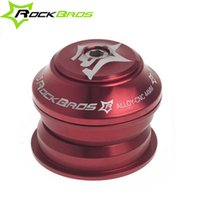 Wholesale New RockBros MTB Road Bike Semi Integrated Threadless Bicycle Cycling Headsets Sealed Cartridge Bearings Red quot