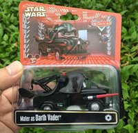 cars 2 diecast - 300PCS HHA433 Pixar cars Star Wars as Darth Vader Mater diecast models children toy vehicles toy cars for children