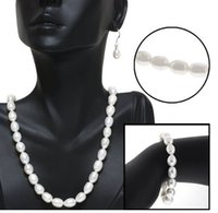 Wholesale Jewelry factory direct a generation of fat natural pearl pendant stylish elegance suit