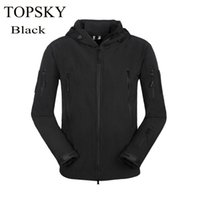 Wholesale Lady Men s Hiking Coat Lurker Shark Skin Soft Shell Outdoor Military Waterproof Windproof Black Warm Tactical Camping Jacket Colors