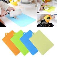 cutting board - Amazing Light Weight Durable Cutting Board Plastic Colored Chopping Board Set Flexible Kitchen Board XX15