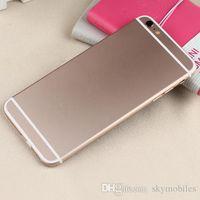 Wholesale Aluminum Alloy I6 Plus I6 inch MTK6582 Quad Core Android G WCDMA Smartphone Rom G Ram G MP Camera GPS Unlocked Cellphone