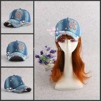 apple baseball hat - New Arrive Fashion Apple shape diamond rhinestone baseball caps Hip Pop peaked hats Snapback caps for man and woman