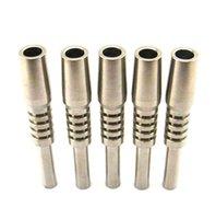 Wholesale 2016 Titanium Nectar Collector Tip Titanium Nail mm mm mm Inverted Nail Grade Titanium Tip Ti nail For Glass Nectar Collector