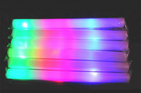 Wholesale 2015 Brand new Low price LED Glow Stick Flash Light Toy fluorescent Sword concert Christmas Carnival Toys
