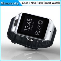 galaxy gear smart watch - Gear Neo R380 Bluetooth Smart Watch Phone MP Camera GB Inch Touchscreen Smart Wristwatch for I6 S Galaxy S5 Note Note3