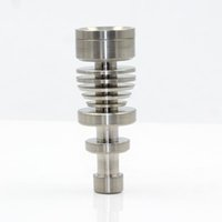 Wholesale Hot sale MJB TM048 Male titanium nail mm mm mm domeless titanium nail dabber for glass water pipe