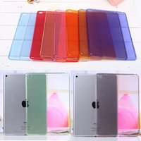Wholesale Full clear Transparent TPU Back Case Cover Silicone For Apple iPad Air Protective Skin for ipad cases Tablet M2C42D