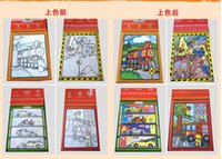 Wholesale learning toy Best Selling Animals Alphabet and Numbers Paint Kit Baby Eductaional Magic Pen Water Drawing Board