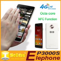 Wholesale Original Elephone P3000S G LTE Cell Phones MTK6592 Octa Core Android quot IPS Screen Dual Sim Dual Camera WCDMA NFC OTG GPS Smartphone