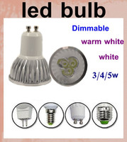 Wholesale dimmable led lights led spotlight outdoor led spotlight bulb hight power E27 E14 GU10 GX5 MR16 with IC AC V lamp led light DB001