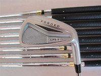 golf clubs irons - APEX PRO Forged Irons Golf Forged Irons OEM Golf Clubs PAw Regular Stiff Flex Steel Shaft Come With Head Cover