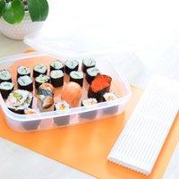 Wholesale Japan Brand DIY Sushi Roller Market Polypropylene Sushi Rolling Roller Mat Preparation Equipment Anti Moisture Sushi Maker