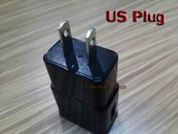 america power plug - Top Speed Charger A A EU Europe Standard US America Standard Plug Power Wall Charger Adapter For Cell Phone Black White Charger