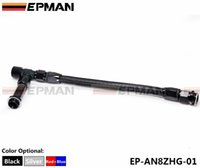Wholesale EPMAN High Quality AN8 AN Black Dual Feed Fuel Line mm AN Dominator Dual Feed Carb Fuel Line Kit EP AN8ZHG