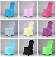 Wholesale 10pcs Exquisite Chair Cover Seat cover Wedding Banquet Café Ceremony Slipcover Antimacassar Many Color wdy002