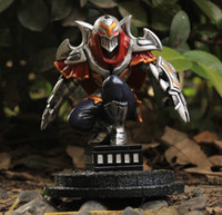 resin figure - 20pcs CM LOL League Of Legends The Master of Shadows Zed Resin Action Figure Kids Toys Gift