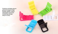 Wholesale Unique design folding mobile phone holder mounts univesal desktop cell phone stand lazy phone holders with colors DHL