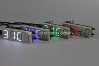 alarm parts - 4 Bits Electronic clock production suite LED electronic clock DIY kit SCM LED digital clock parts