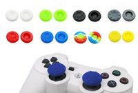 Cheap Silicone Analog Grips Thumb stick handle caps Cover For Sony Playstation 4 PS4 PS3 Xbox Controllers 10pcs lot