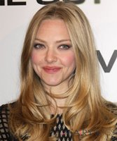 blonde lace front wigs - Amanda Seyfried Blonde Lace Front Human Hair Wigs Inch Wavy With Brazilian Remy Hair Top Quality