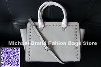 handbags usa - USA Brand Selma Studded Saffiano Leather Satchel Women Leather Handbags Shouler Bags Genuine Leather Messenger Bags Dustbag