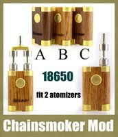 Cheap wood box mod Best chainsmoker mod