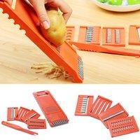 Wholesale Hot sales Fruit Vegetable Potato Slicer Cutter Peeler Chopper Dicer Kitchen Cooking DIY Food Tool Set